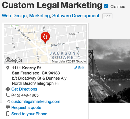 Custom Legal Marketing Request a Quote 12 Photos Web Design 1111 Kearny St North Beach Telegraph Hill San Francisco CA Phone Number Yelp