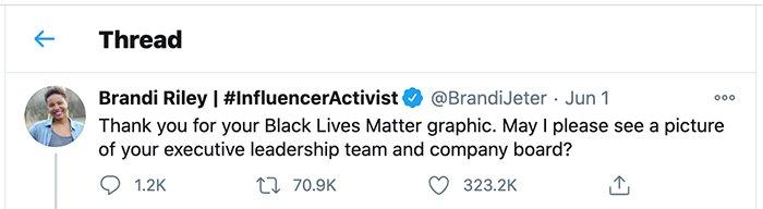 diversity tweet