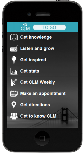 CLM App for Apple and Android Devices