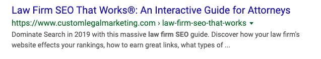 Google SERP Title & Meta Description