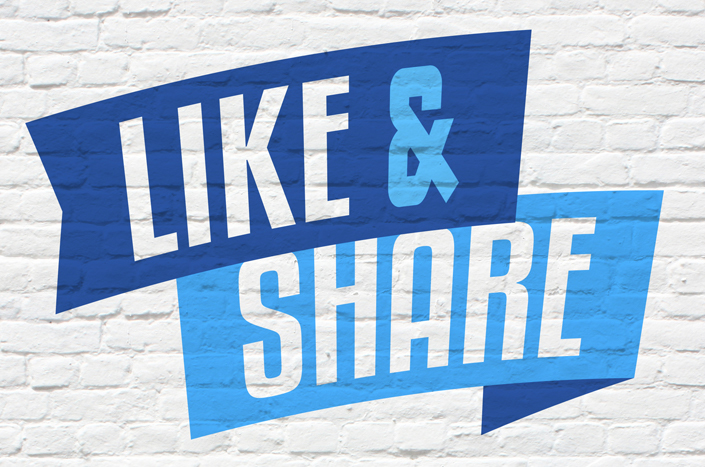 like share