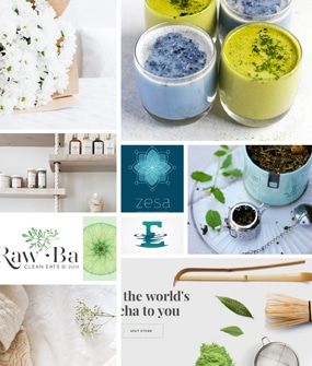 moodboard spa web