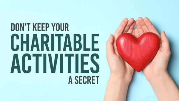 Charitable Activities are Good for Your Community and Law Firm Marketing