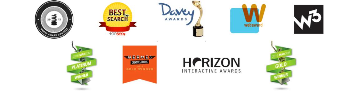 Awards for law firm website design